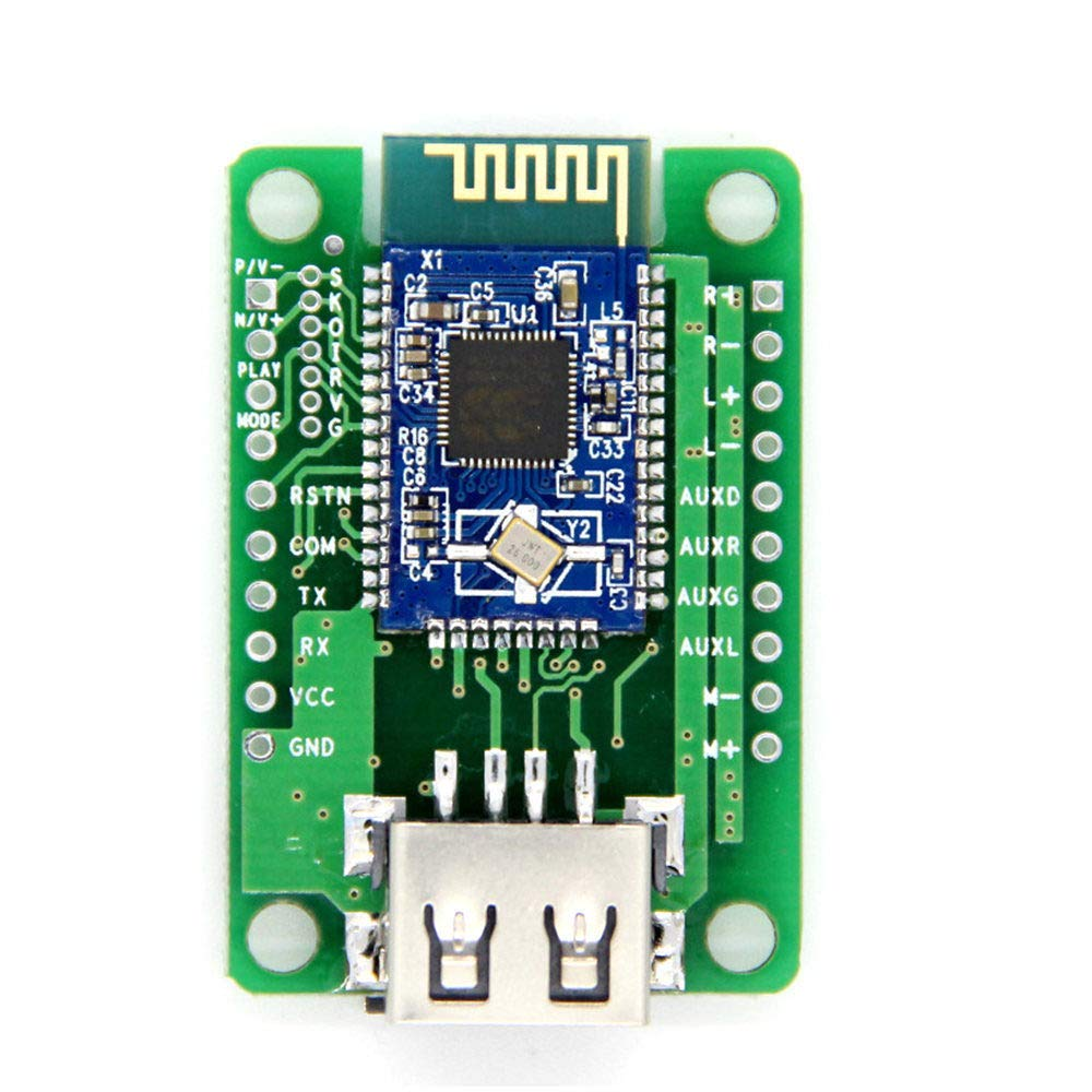 Dual 3W Bluetooth Amplifier Board V4.1 Stereo BK3254 Bluetooth Module FM Radio