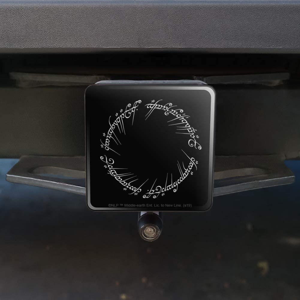 Graphics and More Lord of The Rings Mordor Script Tow Trailer Hitch Cover Plug Insert