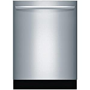 Bosch 800 Series SGX68U55UC 24 Inch Built In Fully Integrated Dishwasher ADA Compliant, NSF Certified, Energy Star Certified in Stainless Steel