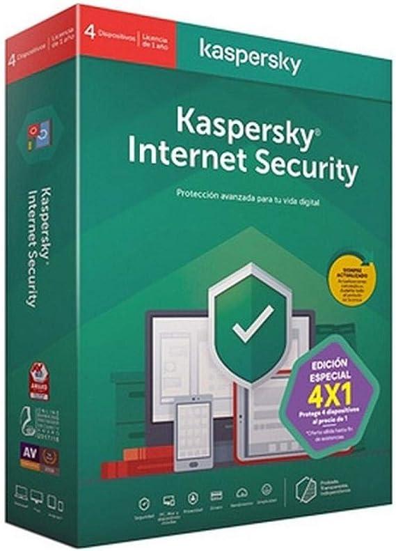 Kaspersky Software ANTIVIRUS 2020 Total Security 5 LICENCIAS