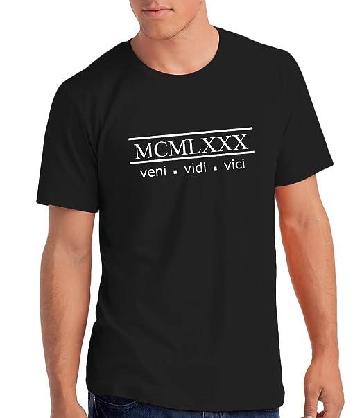 Da Londra Camiseta para Hombre Veni Vidi Vici 1980