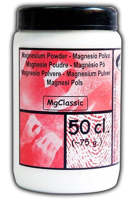 8cplus EMG0501 Magnesio en Polvo, Blanco, Talla Única