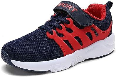 Zapatillas Deportivas Unisex para Niños Niña Running Zapatos de Deporte de Los Muchachos Antideslizante Zapatos de Correr 28-39: Amazon.es: Zapatos y complementos