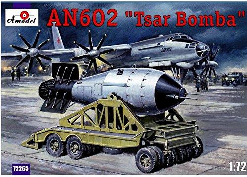 AN602 Tsar Bomba 1/72 Amodel 72265 1