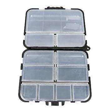 Amazon.com: box026 transparente Beads Tackle Box Señuelo de ...