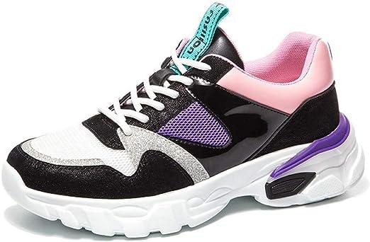 XiXia XZapatos para Caminar de Mujer Zapatillas de Deporte de ...