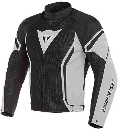 Dainese Mens Air Crono2 Tex Jacket Black/Grey 52