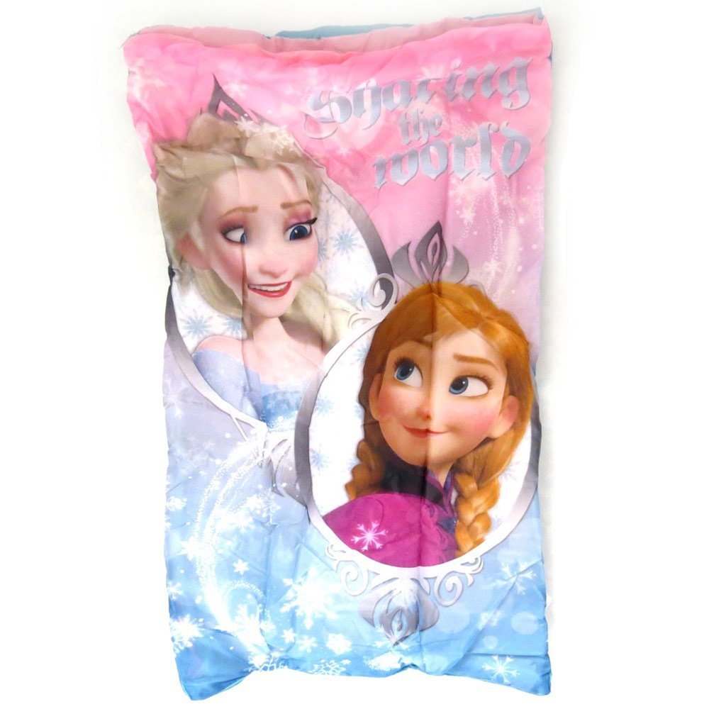 Saco de dormir + cojín Frozen - Reine Des Neigesrosa - 140x70 cm.: Amazon.es: Hogar