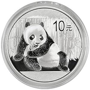 2015 10 Yuan Silver Chinese Panda .999 1oz. Brilliant Uncirculated
