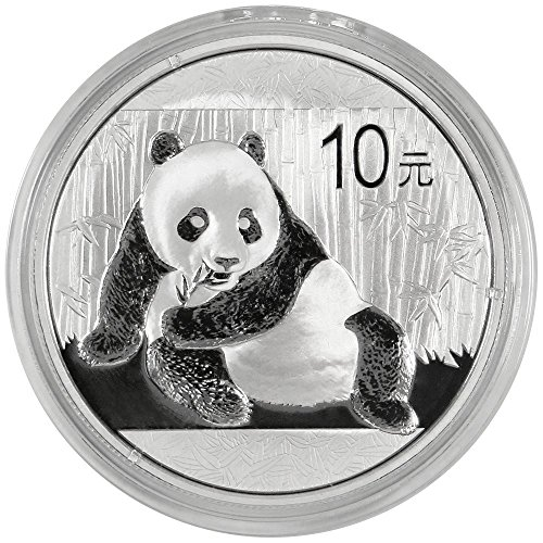 2015 10 Yuan Silver Chinese Panda .999 1oz. Brilliant Uncirculated