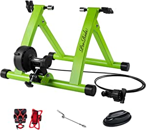 ProRide Bike Trainer Stand Indoor Exercise Bicycle Magnetic Standwith Bike Phone Holder