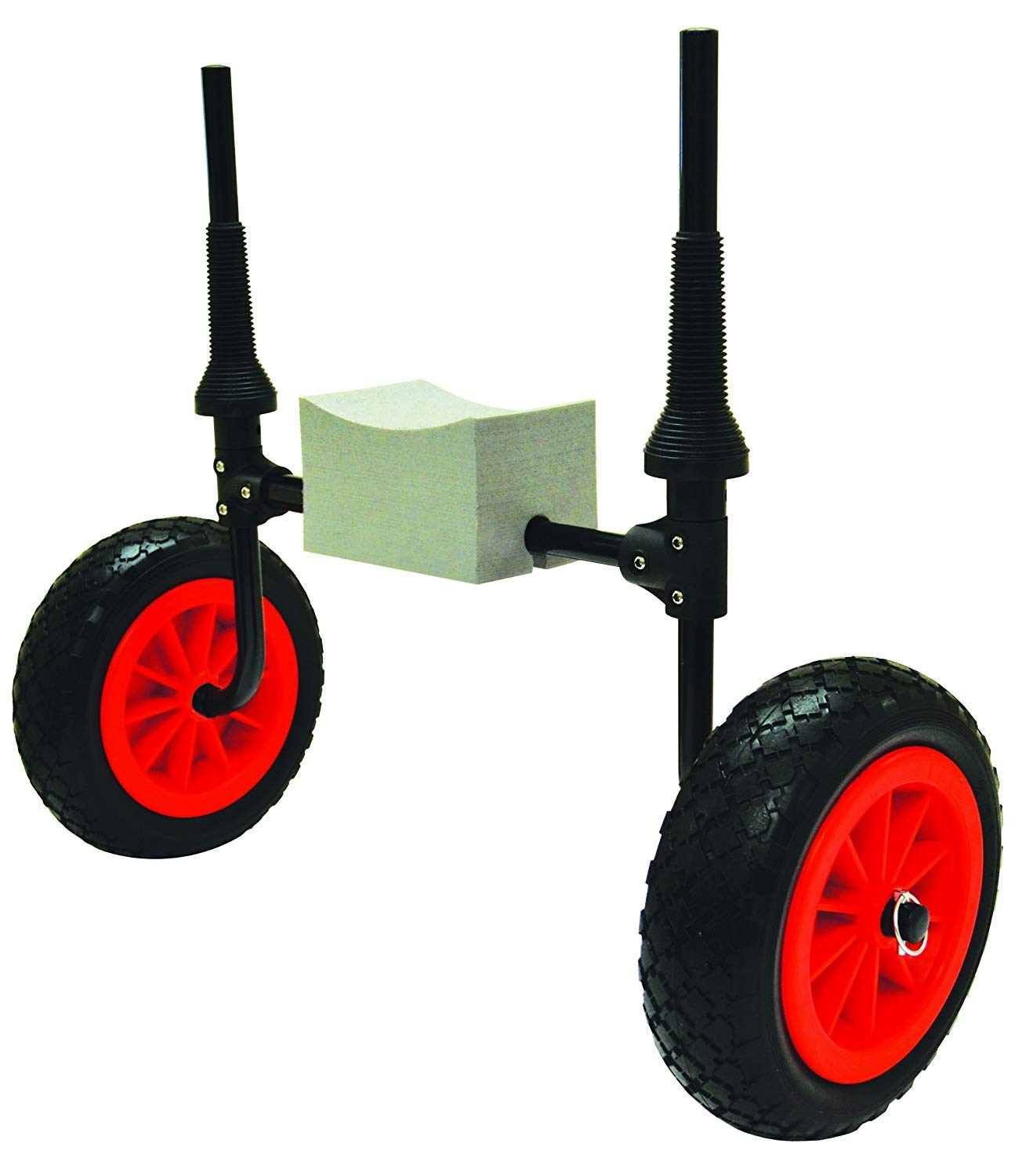 Malone Xpress Scupper-Style Kayak Cart for Sit-On-Top Kayaks (Pack of 1) by Malone