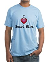 CafePress - I love Boxed Wine T-Shirt - Fitted T-Shirt, Vintage Fit Soft Cotton Tee