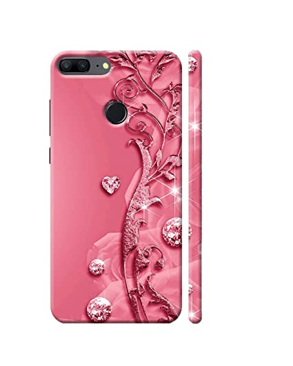 the latest 2c731 a75cd Clapcart Honor 9 Lite Designer Printed Back Cover for: Amazon.in ...