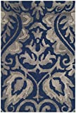 Safavieh Dip Dye Collection DDY511N Handmade Navy and Grey Wool Area Rug (2′ x 3′) Review