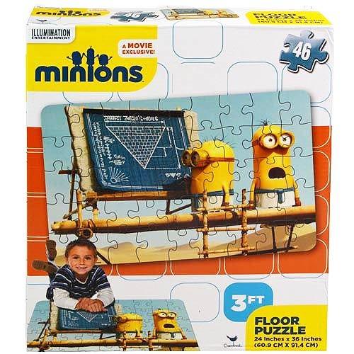 Illumination Entertainment Minions Floor Puzzle - 46 Pieces 24