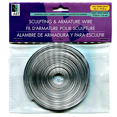 Clay Wire (Armature Wire 1/16in X32ft Coil)