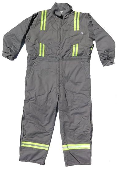 58e37d83f47 Amazon.com  Tough Tech Men s Flame-Resistant Insulated Coverall  Clothing