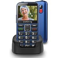 "Ukuu Senioren-Mobiele telefoon 1,8"" GSM mobiele telefoon Dual SIM klaptelefoon met grote toetsen en zonder contract…"