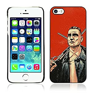 Colorful Printed Hard Protective Back Case Cover Shell Skin for Apple iPhone 5 / 5S ( Cool Lock Stock Illustration )