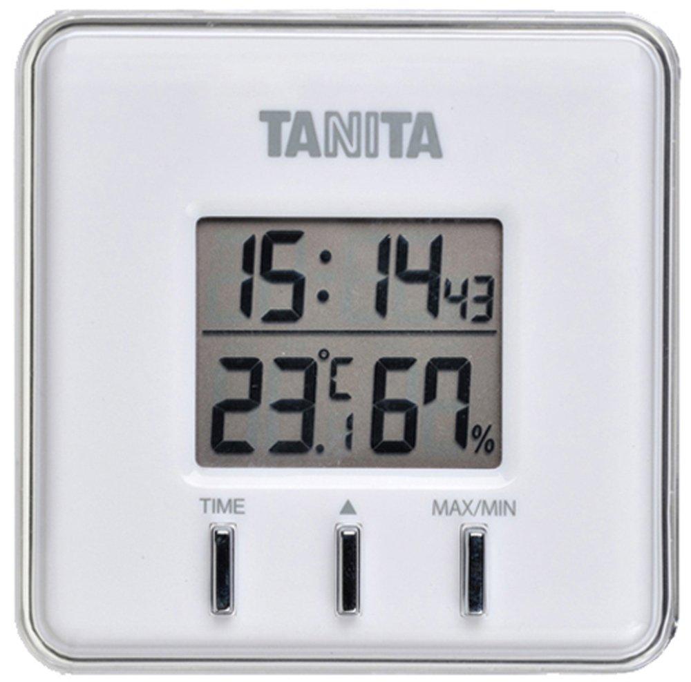 Tanita Thermo-hygromètre numérique Blanc tt-550-wh