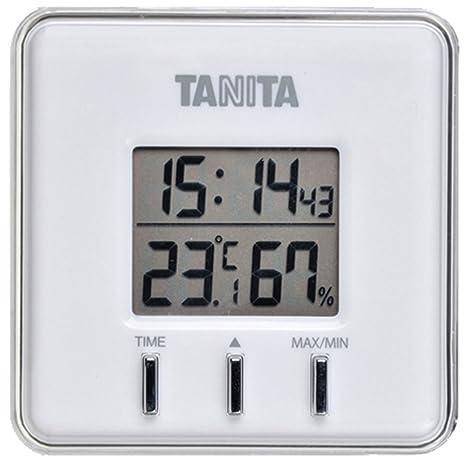 Amazon.com: Tanita digital thermo-hygrometer white TT-550-WH ...