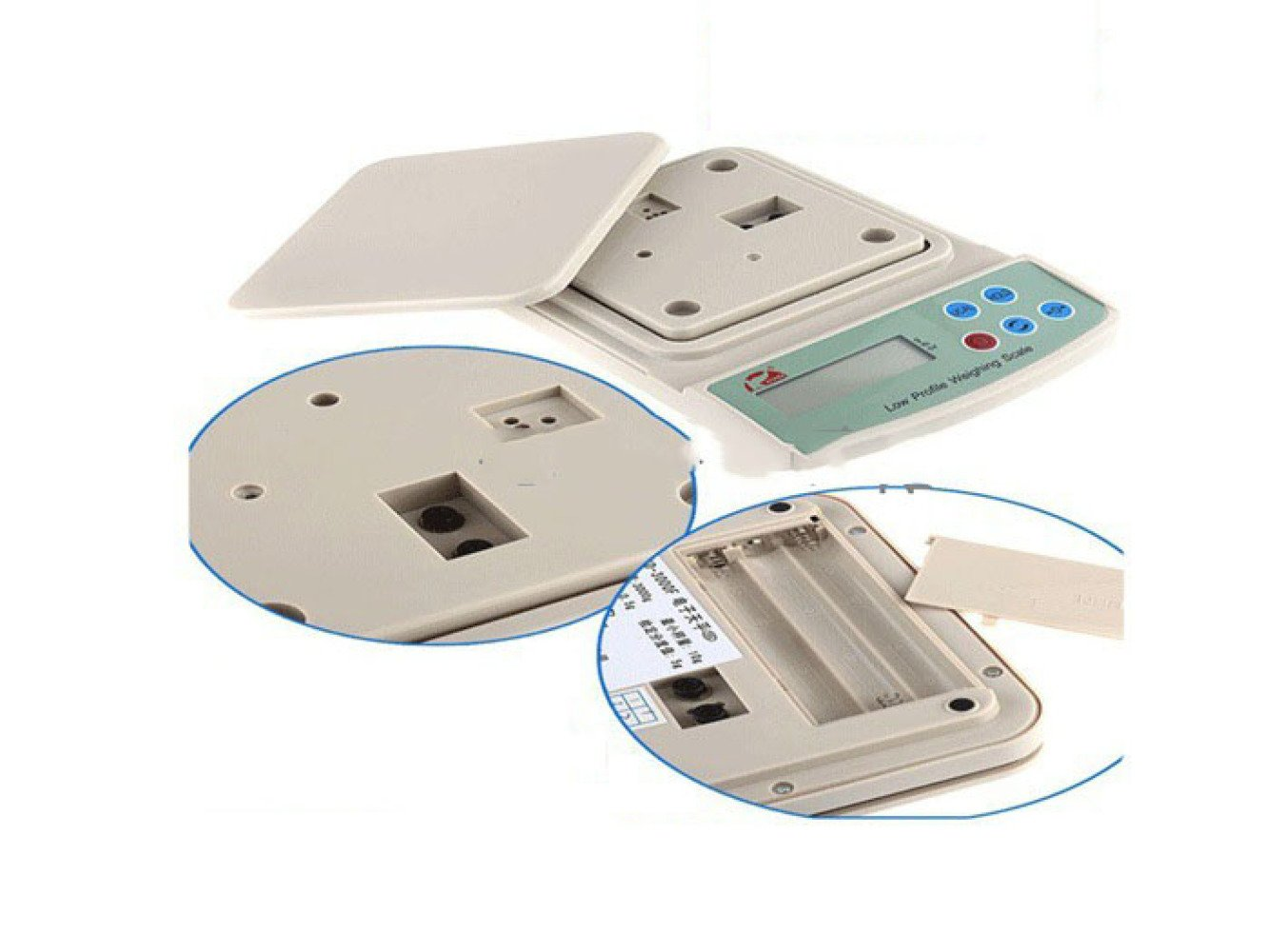 MLL Balanza electrónica de balanza de Cocina para Hornear Llamada Farmacia gramo Escala 500g / 0.1g joyería de Oro Llamada,300 Gramos: Amazon.es: Deportes y ...