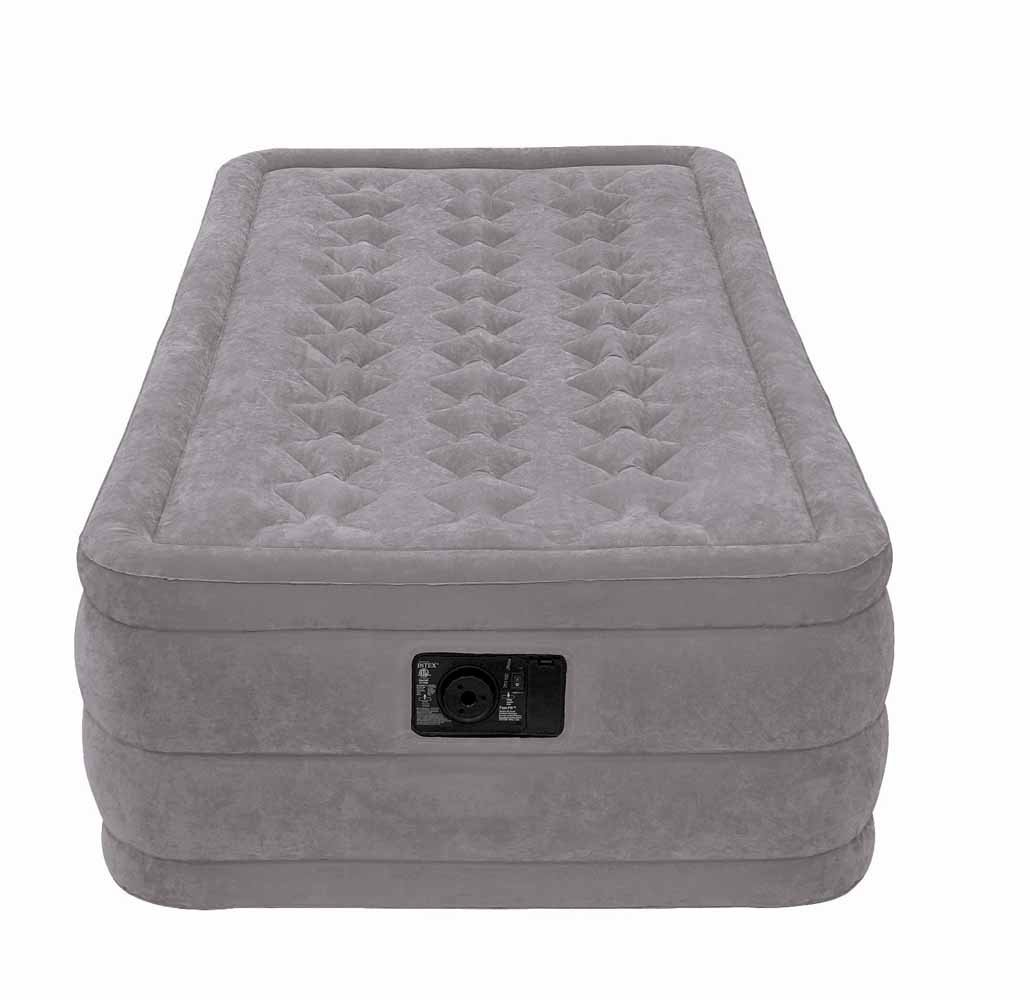 Intex Ultra Plush Airbed with Built In Electric Pump