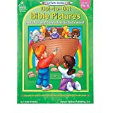 Bargain World Bible Dot-To-Dot Activity Book - Pre-K-K (With Sticky Notes)