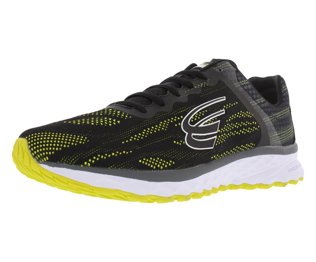 Spira Vento Running Men's Shoes B07B9HVQYM 11 D(M) US|Black / Neon Yellow / White