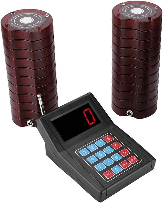 Bewinner Wireless Pager System Für Restaurant 1 5 Km Elektronik