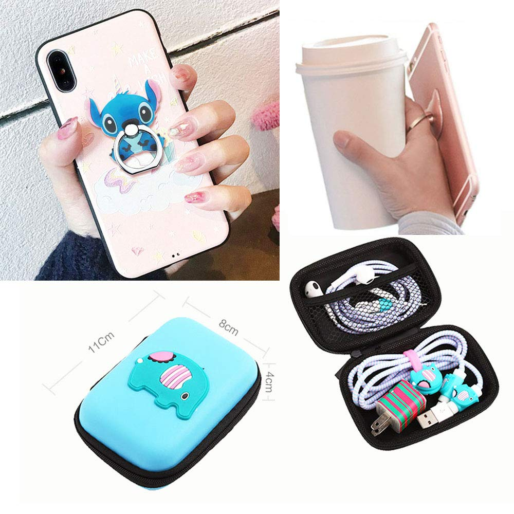 Basic Styles, Black Bat TM DIY Protector DC Super Hero Data Cable USB Charger Line Earphone Wire Saver Organizer Compatible with iPhone 5S SE 6 6S 7 8 Plus X XS XR Max iPad iPod iWatch ZOEAST