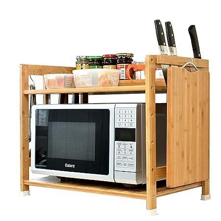 Mueble auxiliar de almacenamiento Cocina Microondas con almacenaje ...