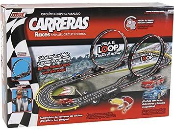 Circuito En Paralelo : Modelmovil circuito looping paralelo amazon juguetes y juegos