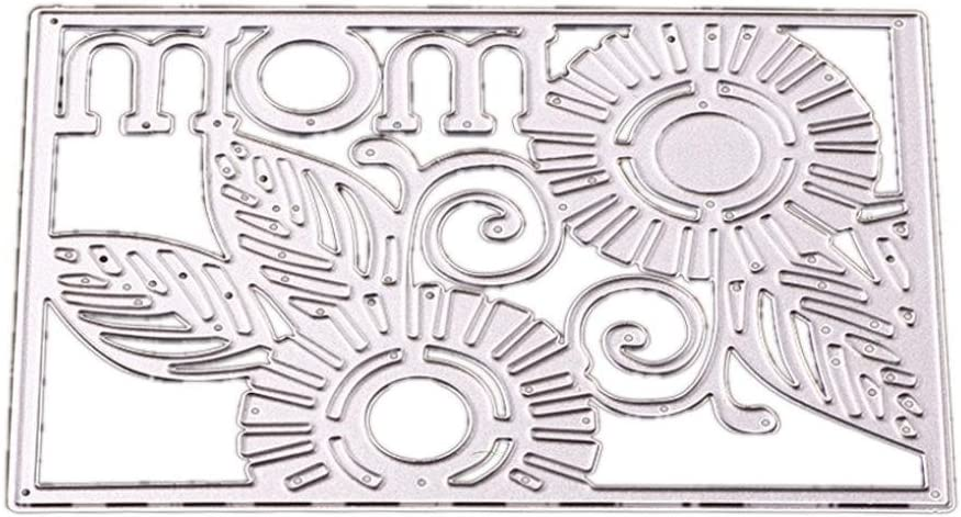 A FNKDOR Scrapbooking Stanzschablone Pr/ägeschablonen Stanzmaschine Stanzformen Schablonen f/ür Sizzix Big Shot und andere Pr/ägemaschine