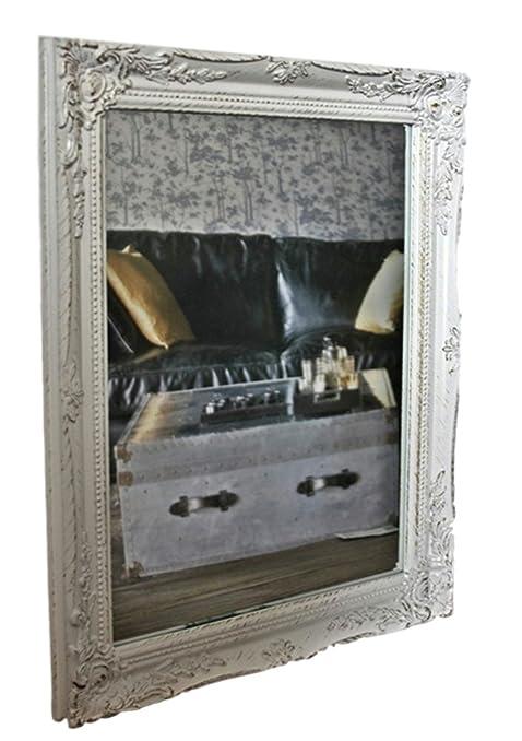 37x47x3,5cm specchio a parete rettangolare, fatti a mano cornici ...