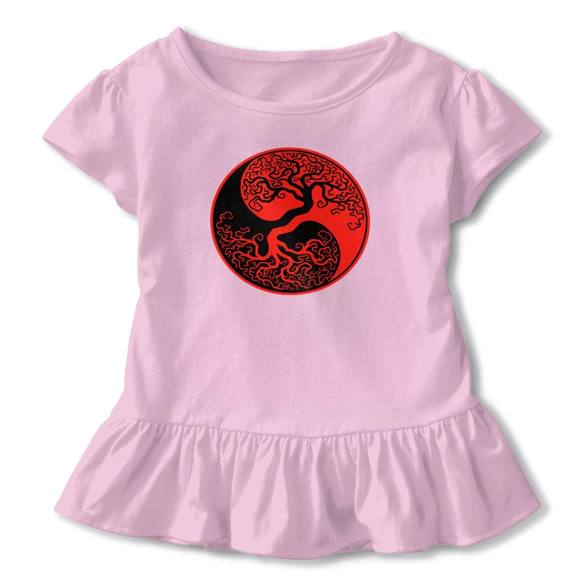 Metzuyan Infant Girls Frill Outfit Sleeveless Top Shorts Set