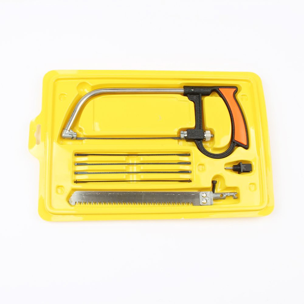 LUBAN Multi Functional Household Hacksaw Tools Set Woodworking Saw for Cutting Wood/Aluminum/Glass (ZFY065SC)