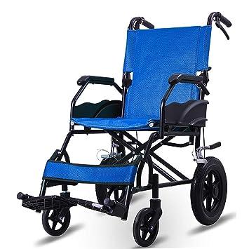 Wheelchair Silla de Ruedas Plegable de aleación de Aluminio ...