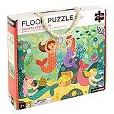 Petit Collage Floor Puzzle, Mermaid Friends, 24 pieces