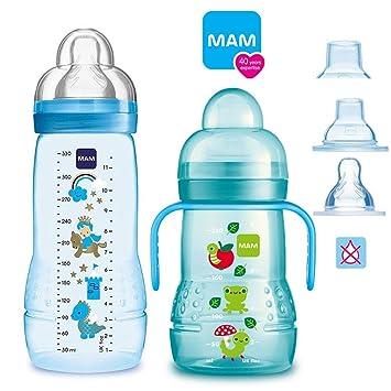 MAM Baby Bottle - Juego de biberones a partir de 4 meses Easy Active ...