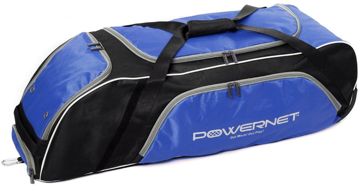 『2年保証』 PowerNet野球ソフトボールWheeled Equipment Equipment Bag B01L9V1R78 Bag ブルー ブルー ブルー, タチカワシ:19e92f75 --- arianechie.dominiotemporario.com