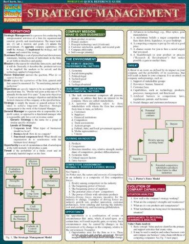 Strategic Management (Quickstudy: Business)