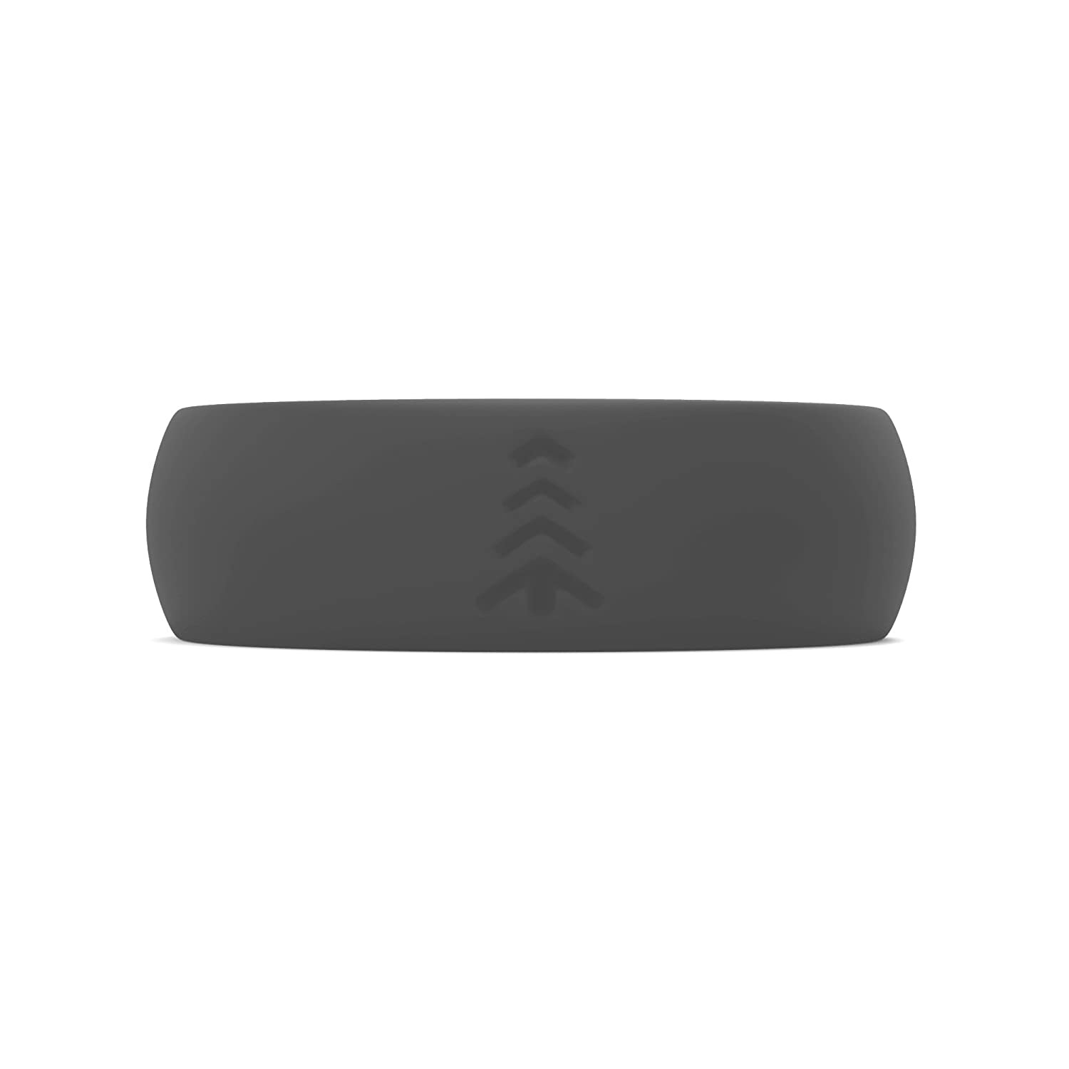 Sports Rubber Wedding Band for Every Day Use Teak Silicone Wedding Ring for Women Yoga Military Training Work Travel and Outdoor