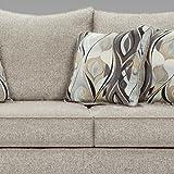 Roundhill Furniture Camero Sofa And Loveseat Set