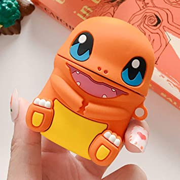 case for Airpods pikachu charmander