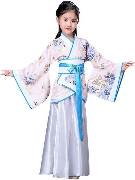 Xinvivion Estilo Chino Hanfu Vestido - Antiguo Tradicional Ropa ...