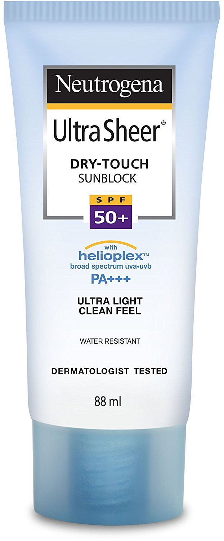 Neutrogena Ultra Sheer Dry-Touch Sunblock SPF 50+ PA+++ 88ml.