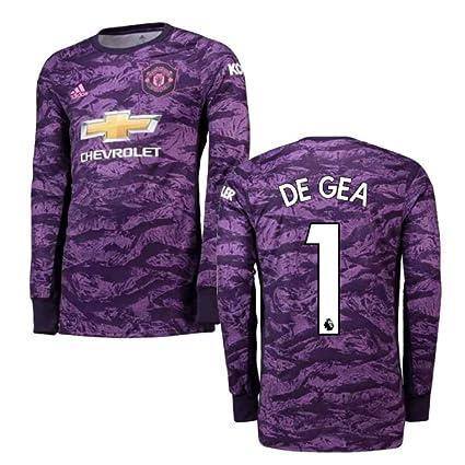 huge discount 26fcc c04ac Amazon.com : 2019-2020 Man Utd Adidas Home Goalkeeper ...