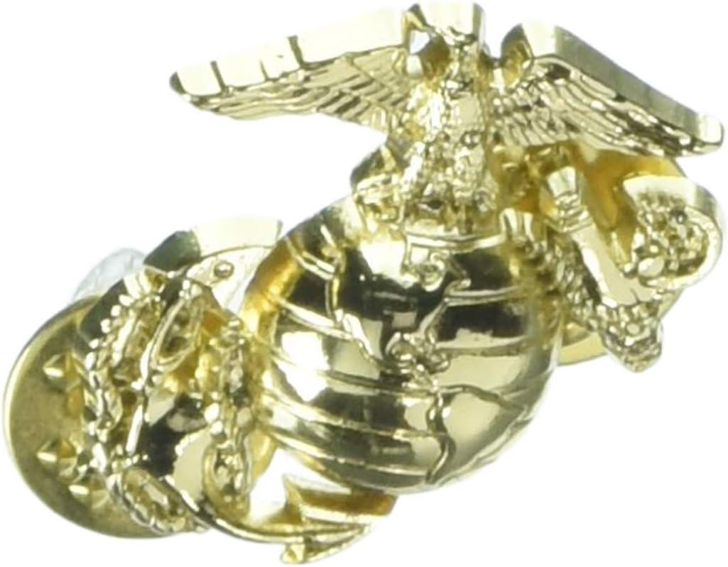 EagleEmblems P15135 Pin-USMC,Emblem,B1,Left Collar-Gold 1